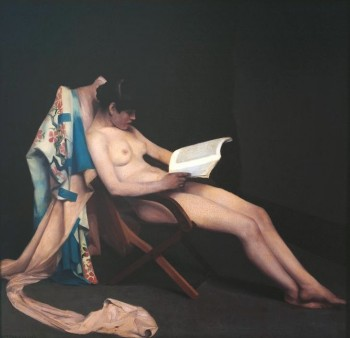 Theodore Roussel, The Reading Girl