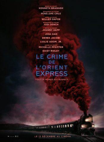Le Crime de L'Orient-Express (2017) de Kenneth Branagh