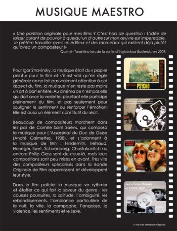 Exposition Musiques de film