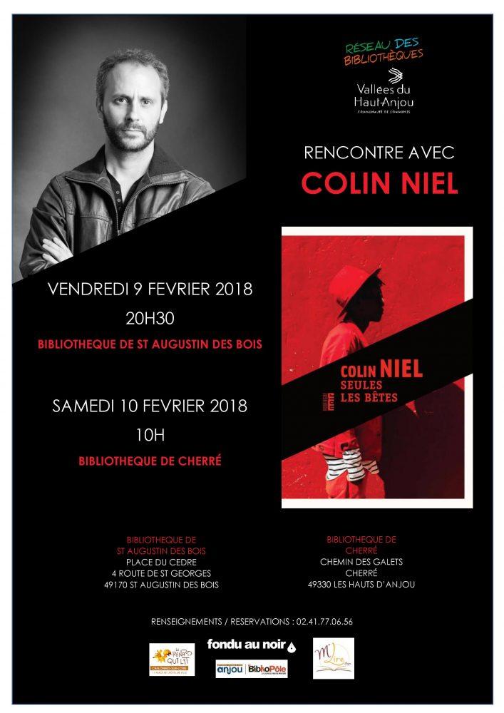 Rencontres avec Colin Niel