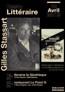 Resto-littéraire : Gilles Stassart à Nantes