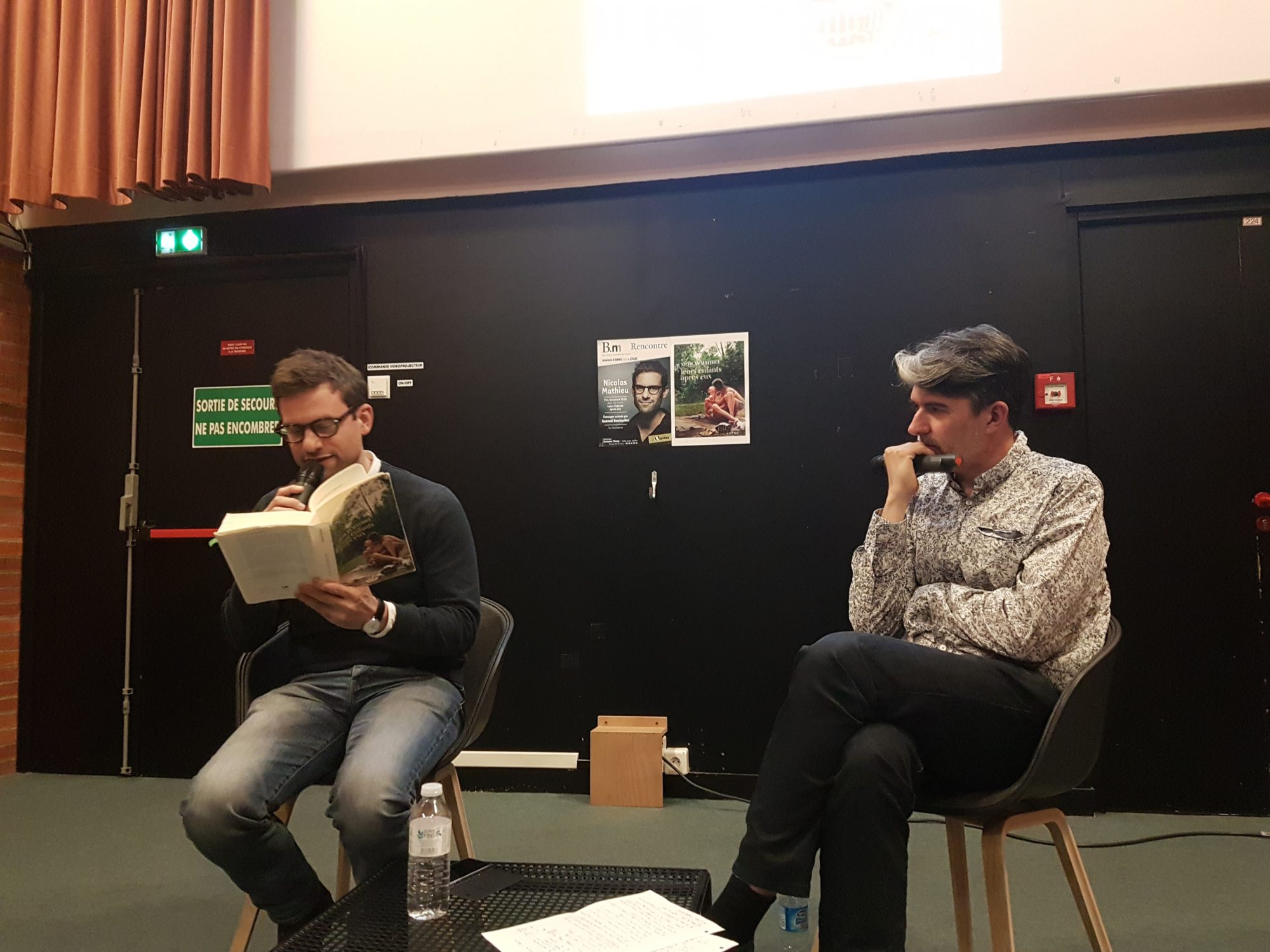 Rencontre avec Nicolas Mathieu à Nantes