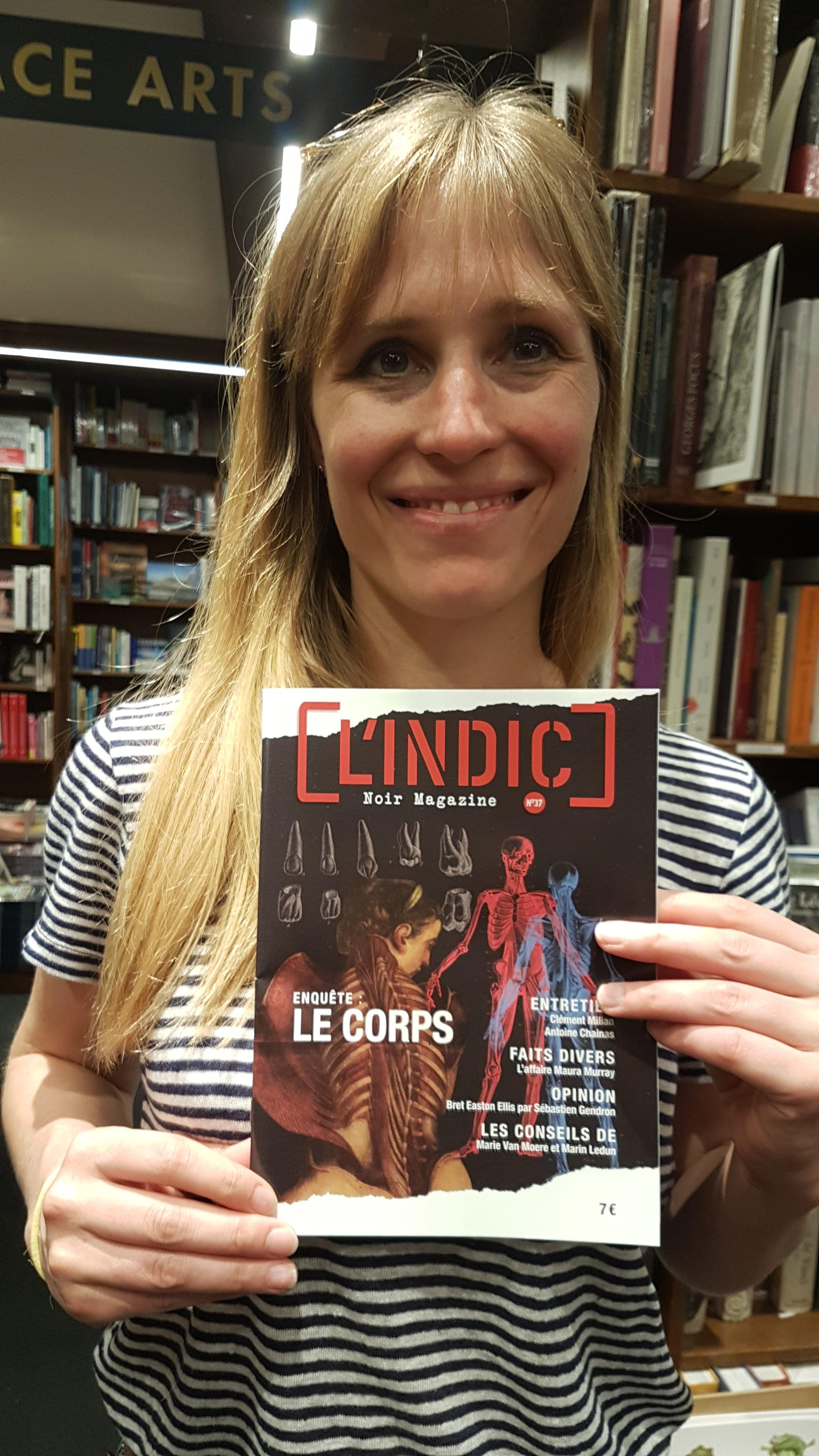 Adeline Dieudonné à la librairie Coiffard