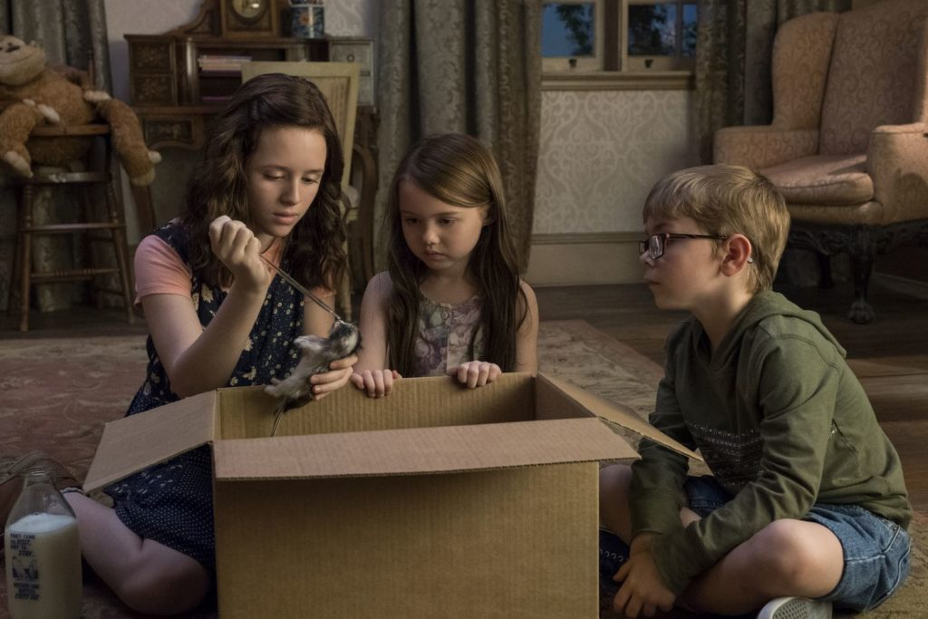 The Haunting of Hill House, adaptée d'un roman de Shirley Jackson