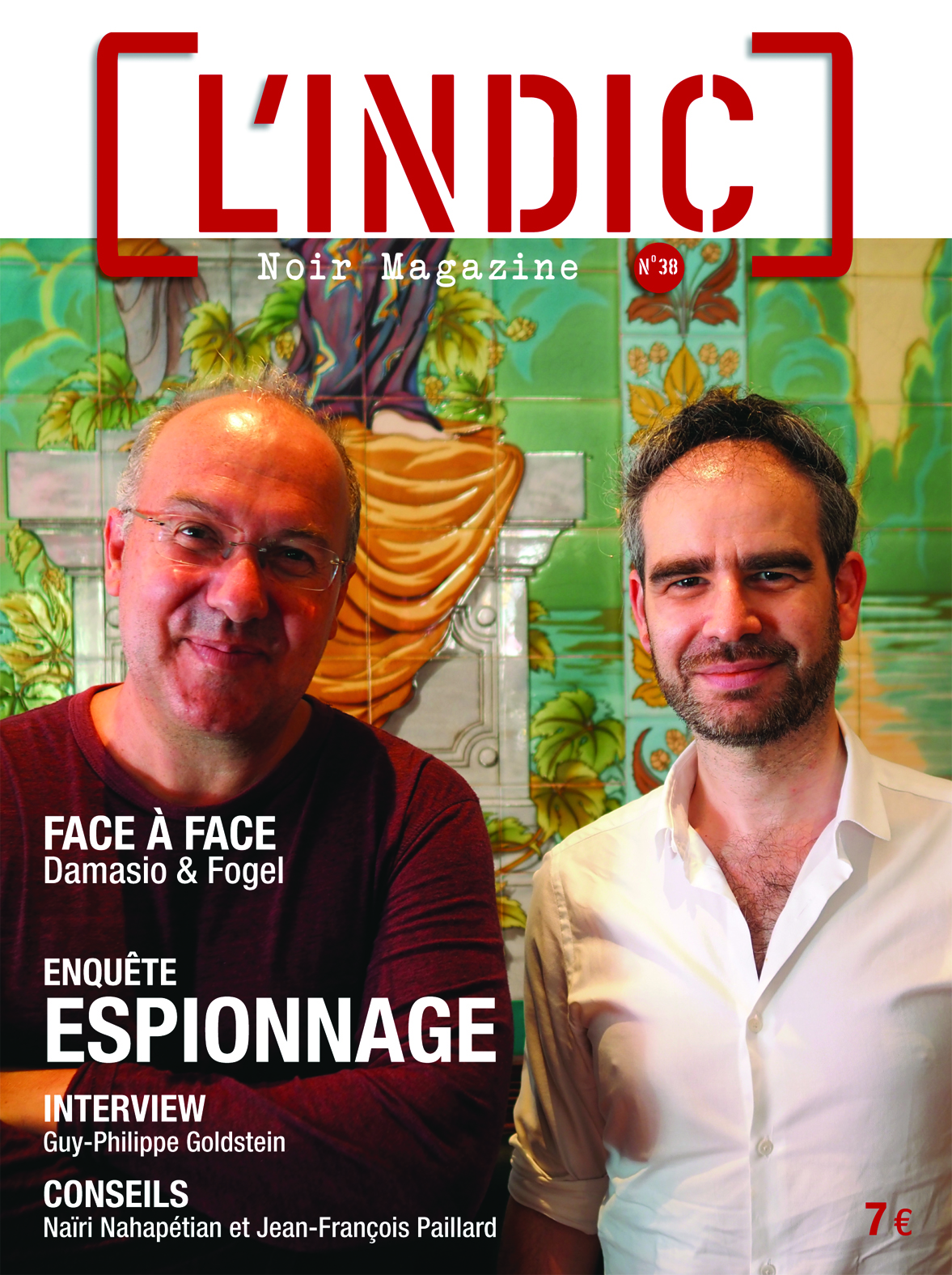 L'Indic n°38, sommaire