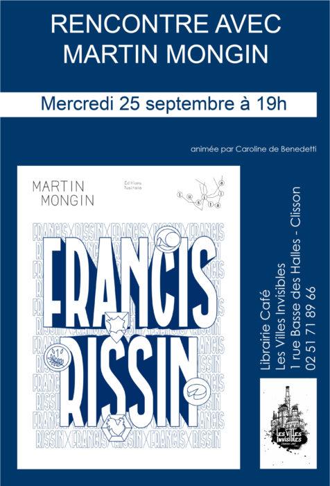 Rencontre avec Martin Mongin à Clisson