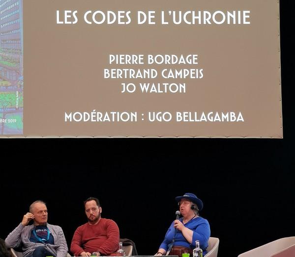 Utopiales 2019, jour 4 : uchronie, autrice et traductrice