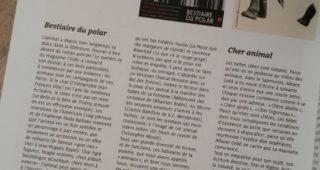 """L'Indic """"bestiaire du polar"""" dans la revue 303"""