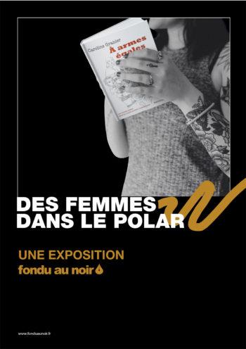 Des femmes dans le polar, une exposition Fondu Au Noir