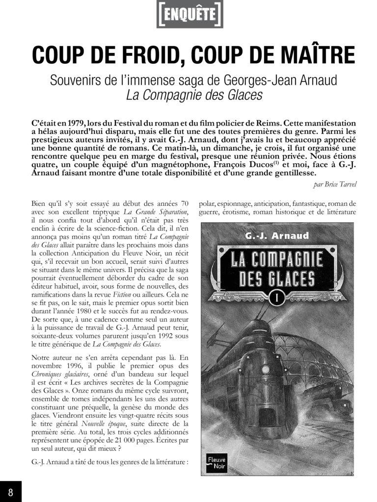 Décès de Georges J. Arnaud