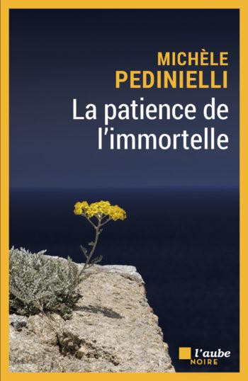 La patience de l'immortelle de Michèle Pedinielli polar 2021 corse fondu au noir