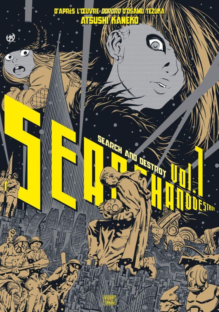 Search & Destroy de Atsushi Kaneko manga 2021 cyberpunk