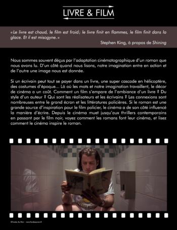Exposition Polar & cinéma : du livre au film