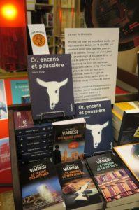 Valerio Varesi à la librairie Durance