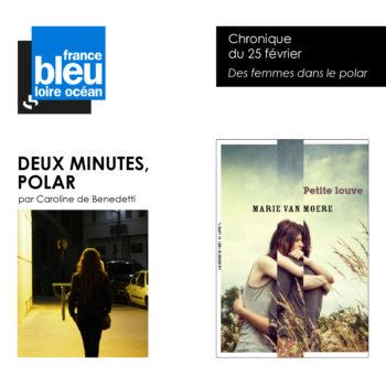 Deux minutes polar : des femmes dans le polar