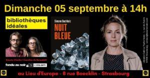 Simone Buchholz aux Bibliothèques Idéales de Strasbourg